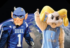 While UNC and Duke are rivals on the basketball court, the two schools' faculty, staff and students often join forces to take on pressing global, national and local issues and challenges.
