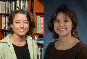 Patricia Sullivan (left) and Zeynep Tufekci have been honored as inaugural 2015 Andrew Carnegie Fellows by the Carnegie Corporation of New York.